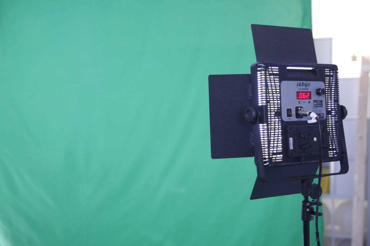 équipement du studio fond vert Paris Le 264